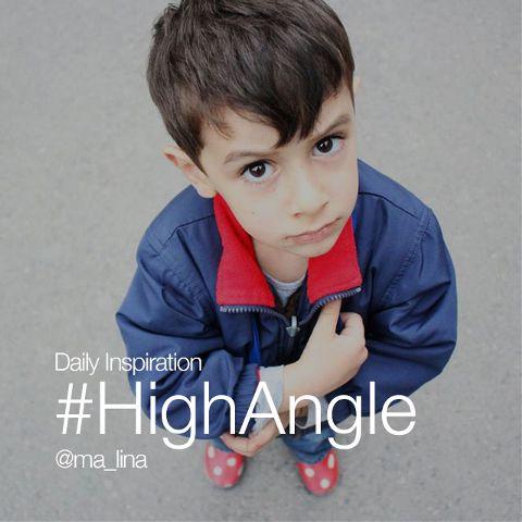 high-angle photography