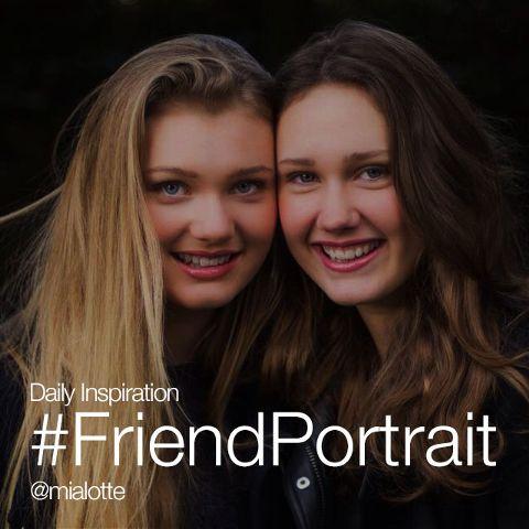 friend portrait daily inspiration