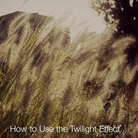 Twilight photo Effect