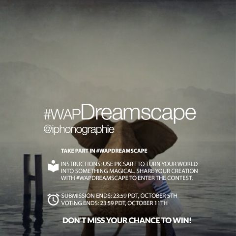 dreamscape photography editing contest
