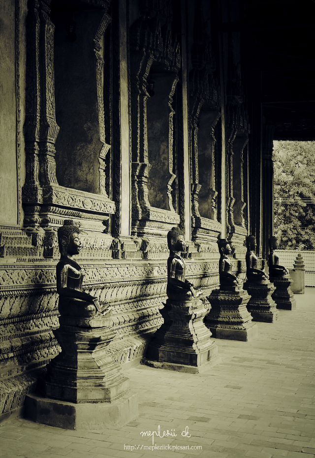 """""""Haw Pha Kaew""""...Archaeological site in Lao Happy time to you all    #travel #photography #architecture #history #Lao"""
