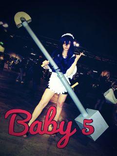 baby5 onepiece cosplay cartoomics