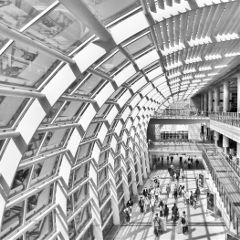 blackandwhite hongkong architecture