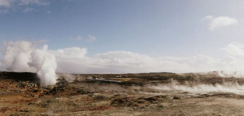 iceland nature hot steam