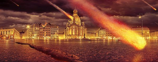 dresden artwork photoshop apocalypse