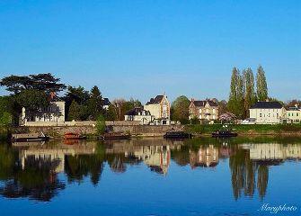photography river landscape france reflect