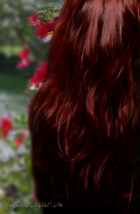 Hello Friends, i had to deleted my complete Gallery. But i will come back soon. See you later.  #red #hair #haircolor #hairart  #emotions #friends
