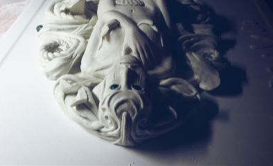 sculpture art fantasy artistic feather