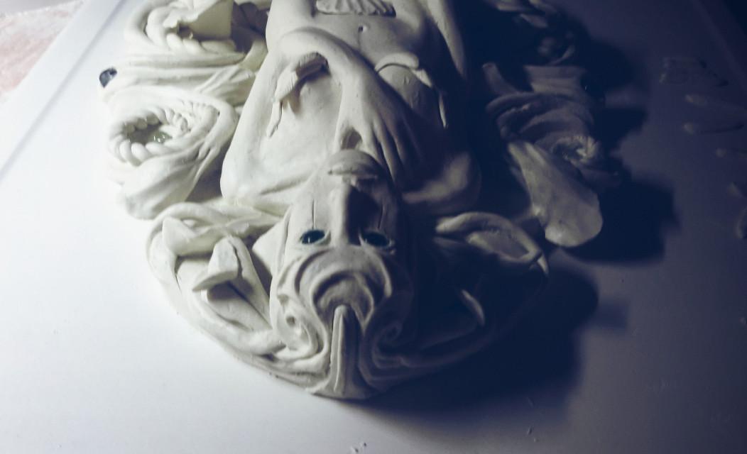 Polymer Clay Sculpure work in progress     #sculpture  #art #fantasy #artistic #feather  #picsart  #nature  #photography  #clay  #artist  #artwork  #emotions