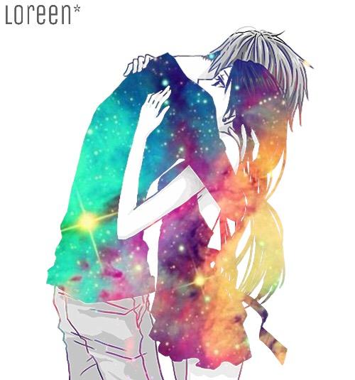 Galaxy Myedit Couple Anime Manga