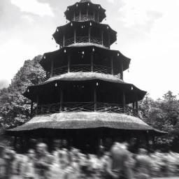 blackandwhite blur effect munich m