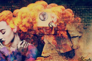 freetoedit edited bricks fire explosion