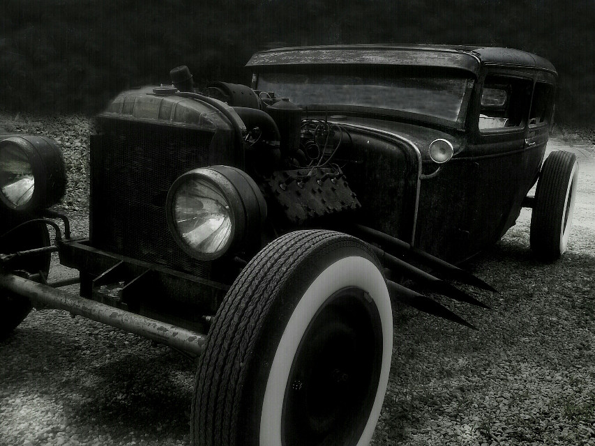 #stark 31 #ford #hotrod #ratrod #rust