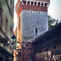 dodger oldbuildings sunset town krakow