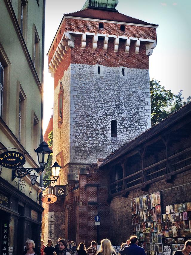 Old town Krakow, Poland  #dodger  #oldbuildings  #sunset  #town  #krakow