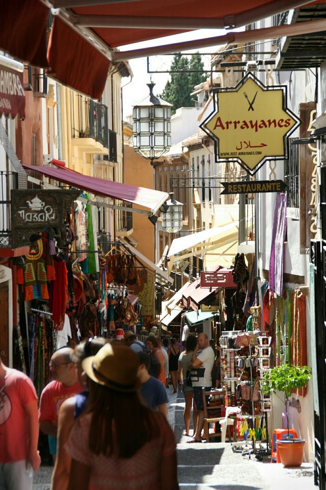 Sometimes Granada looks like small Istanbul... #Spain #Granada #travel #spain #granada