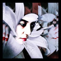 interesting art artistic abstract artisticselfie blossom fantasy edited