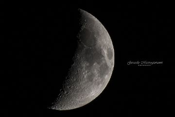 moon sidelight emotions photography night