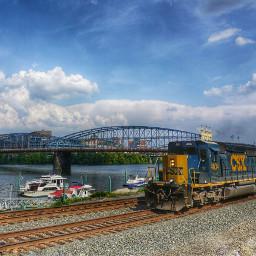 highmarkstadium pittsburgh train cityscape hdr