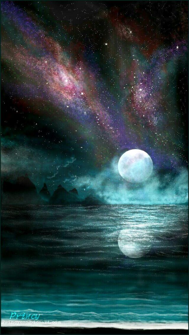 night drawing digital art