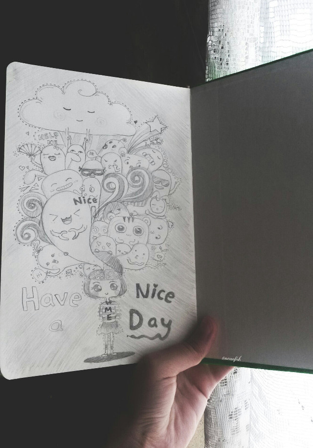 My sister draw #photography #draw #cute #doodles #goodmorning