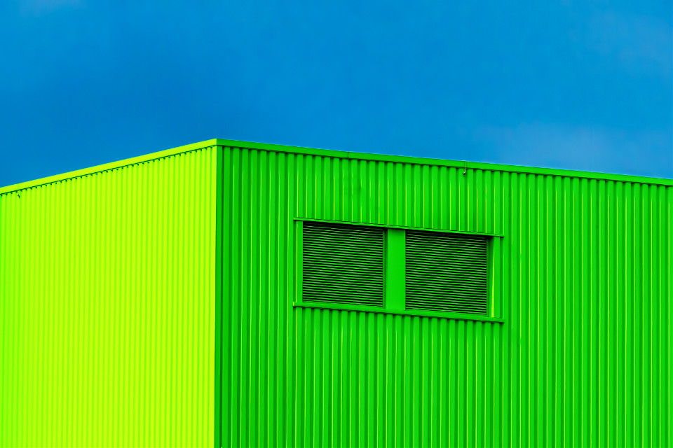The Green Company #photography #Industrial #Factory #Green