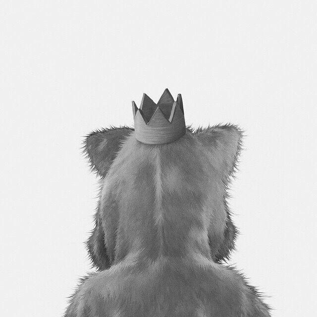 Wildlife photo manipulation by @damepistachos