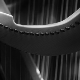 instrument music lines blackandwhite elegant