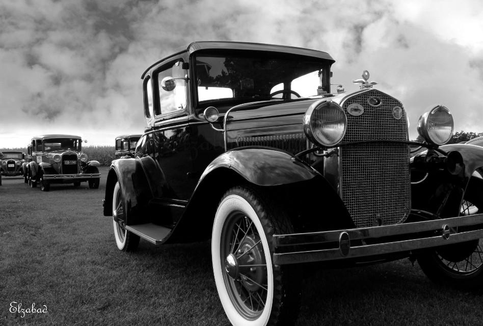 #antique #Ford #Model-T #blackandwhite #classiccar
