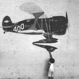 blackandwhit classic airplane wapblackandwhite