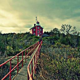 offcenter lighthouse photography landscape